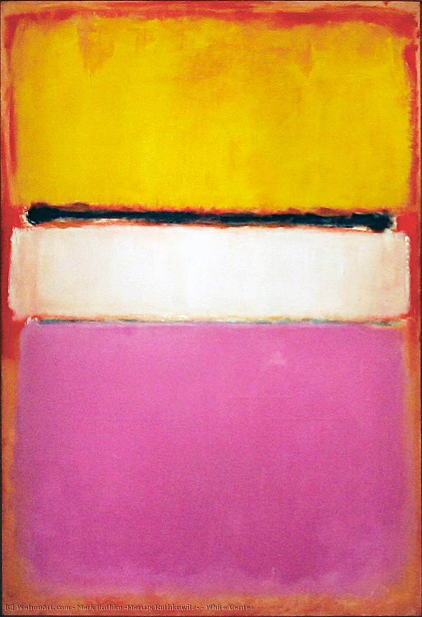 Mark Rothko Number 1 Giclee Canvas Print Paintings Poster Reproduction Copy